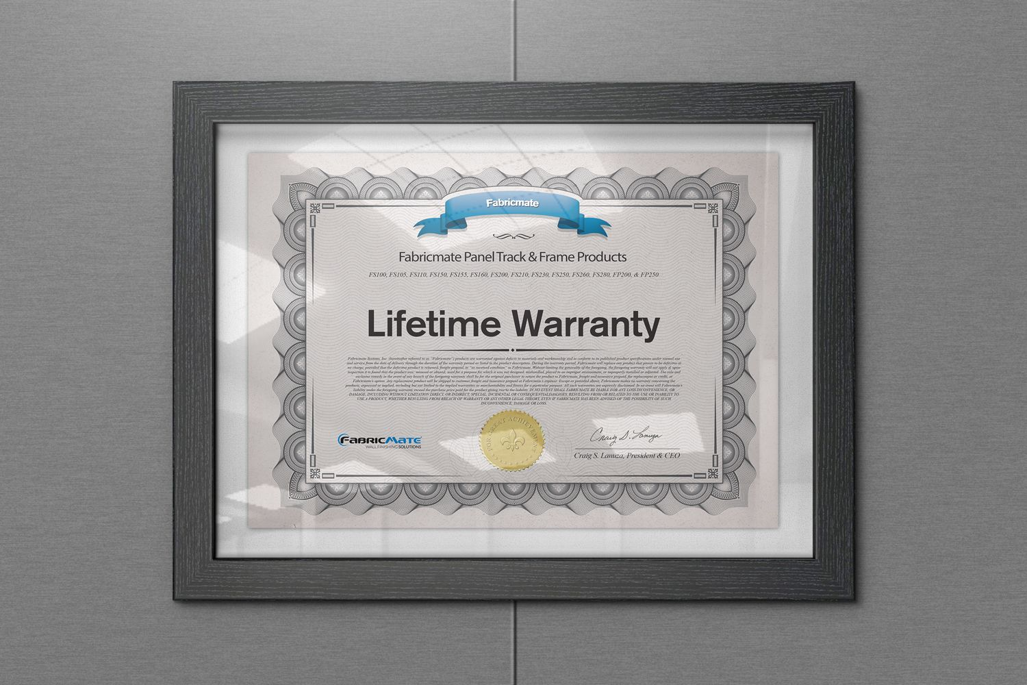 WARRANTIES -  Enjoy Peace of Mind