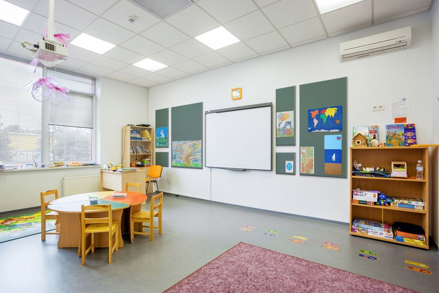 Wall Protection - Education - Preschool - Safe
