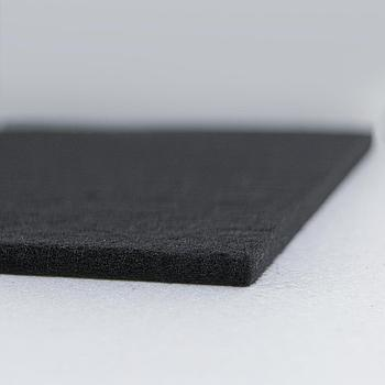 Sample of ReCore® Black Slim-Line® 1/4 in. Backing 10.0 pcf